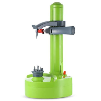 Electric Peeler For Fruits And Vegetables - Green