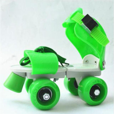 Outdoor Kids Roller Skates - Green