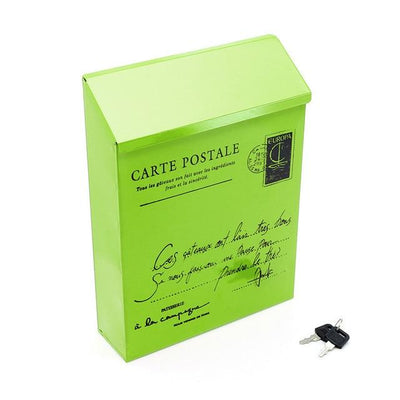 Personal Wall Mount Mailbox - Green