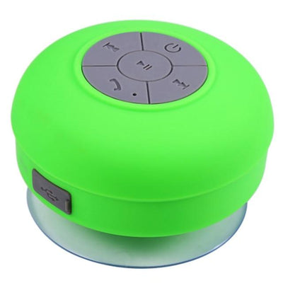 Waterproof Bluetooth Shower Speaker - Green