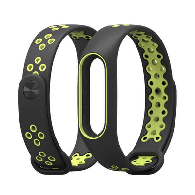 Sport Smart Mi Wristband 2 - Green Black