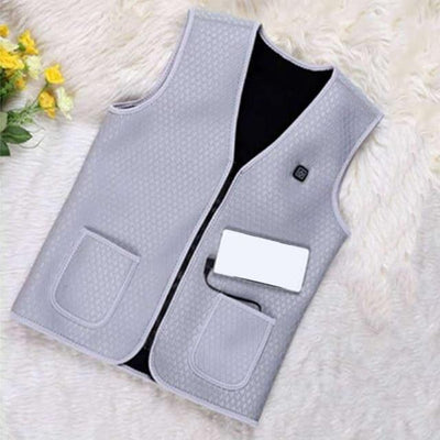 Ultimate Heated Vest - Gray / M