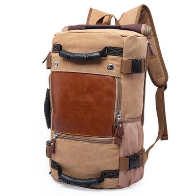 Vintage Traveler Backpack - Khaiki
