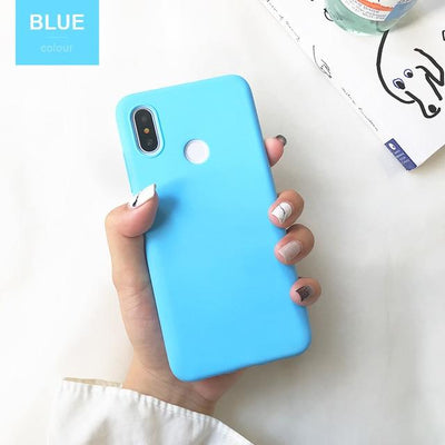 Durable Protection Silicone Case - Note 5x / Light Blue