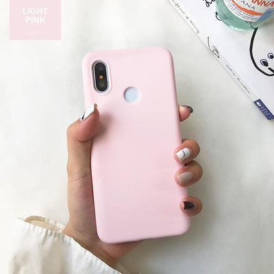 Durable Protection Silicone Case - Note 5x / Light Pink