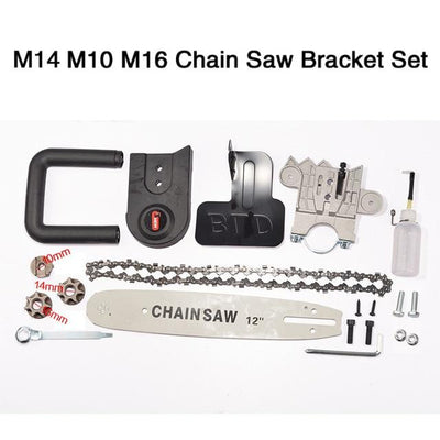 Angle Grinder Chainsaw Bracket Set - Bracket Set