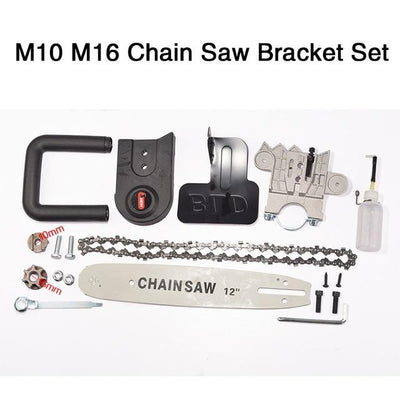 Angle Grinder Chainsaw Bracket Set -
