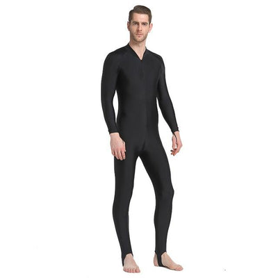 Anti UV Diving Wetsuit - Men Black / S