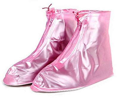 Waterproof Shoe Cover - Pink / S