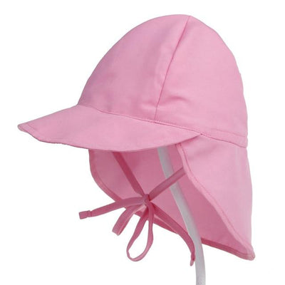 Anti UV Protection Baby Beach Cap - Pink / S