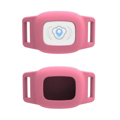 GPS Pet Collar Tracker - Pink