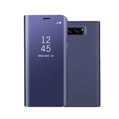 Mirror Leather Case - Purple / Notes 8