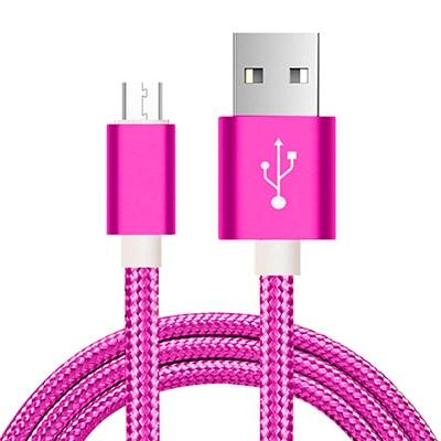 Fast Charging Micro-USB Cable - 1m / Purple