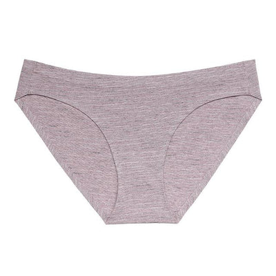 Soft Breathable Brief Set - Purple / S