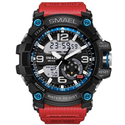 Luxury Sports Watch - Red