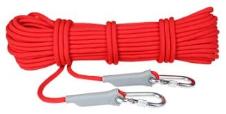 Professional Rock Climbing Rope - Red / 10 meter