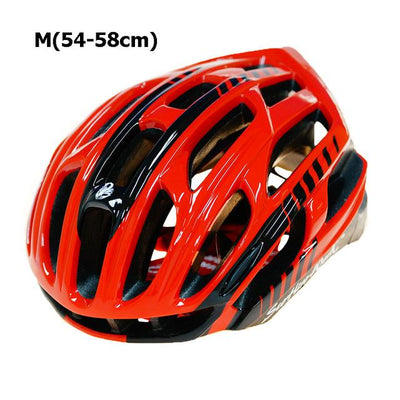 Ultralight Bicycle Helmet - Red