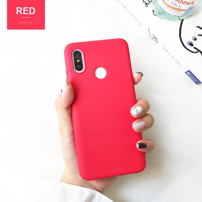Durable Protection Silicone Case - Note 5x / Red
