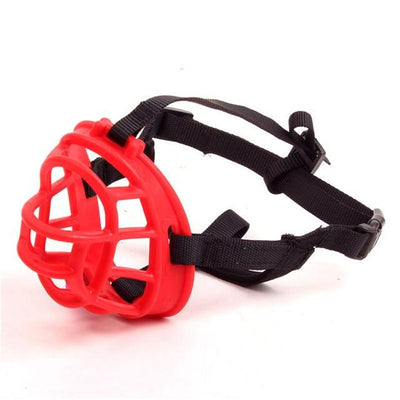 Soft Dog Muzzle - Red / S
