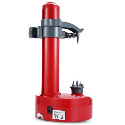 Electric Peeler For Fruits And Vegetables - Red