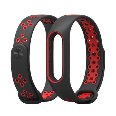 Sport Smart Mi Wristband 2 - Red Black