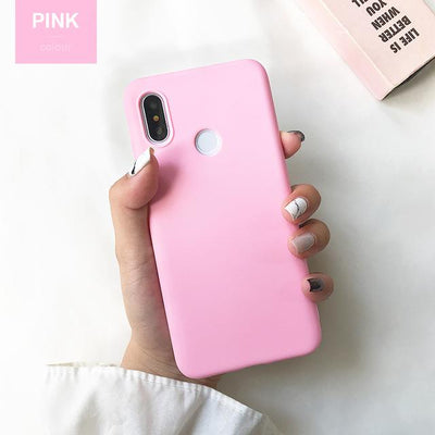 Durable Protection Silicone Case - Note 5x / Rose Pink