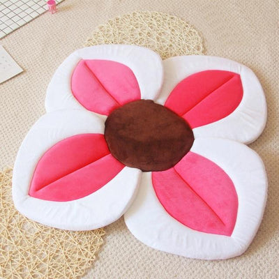 Baby Sponge Play Bath Mat - Rose