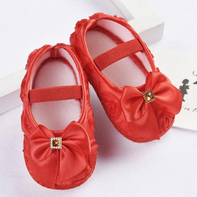 Princess Pre-Walkers Soft Shoes - Red / 0 - 6
