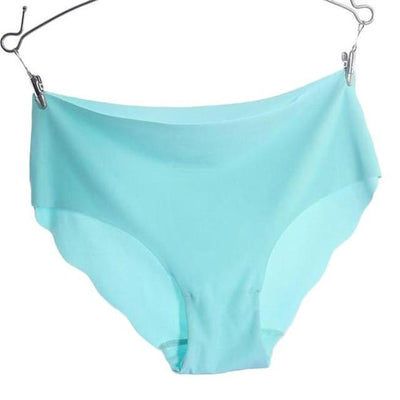 Invisible Seamless Panties - Sky Blue / M