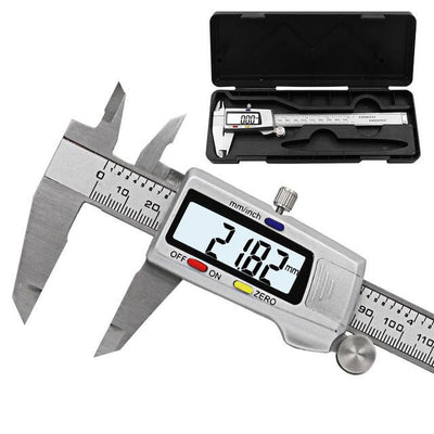Stainless Steel Digital Caliper - Silver box