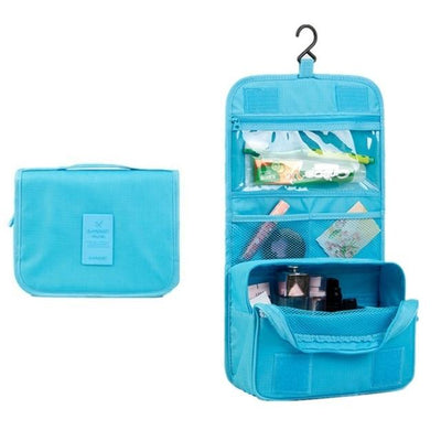 Hanging Washing Bags - Sky blue