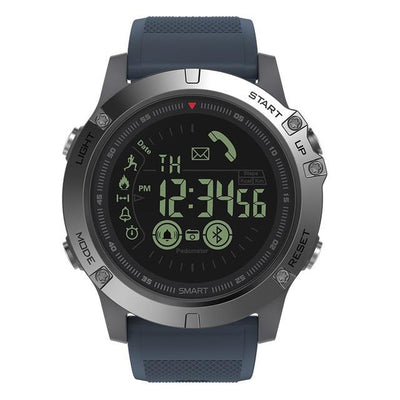 Durable Smart Watch for iOS/ Android - Blue