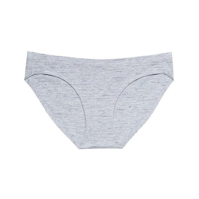 Soft Breathable Brief Set - Striped Gray / S