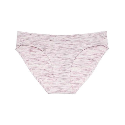 Soft Breathable Brief Set - Striped Red / S