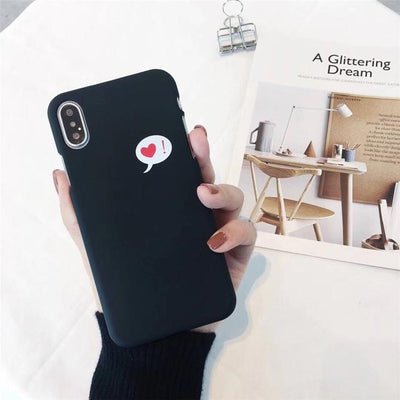 Cute Heart Print iPhone Case Cover - iPhone 8 Plus / Style 18
