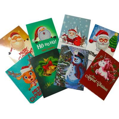 Diamond Greeting Cards - C