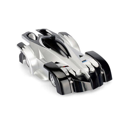 Remote Control Wall Climbing Toy Car - Black Silver