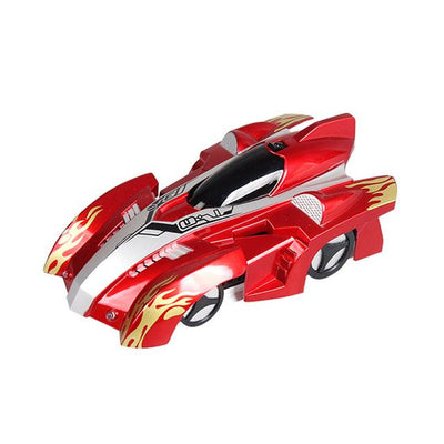 Remote Control Wall Climbing Toy Car - Red