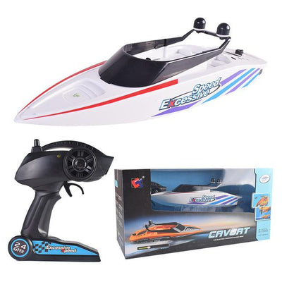 High Speed Rc Racing Boat - White