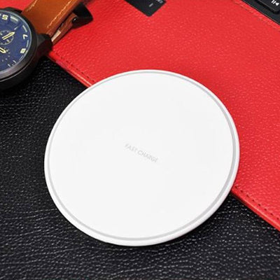 Wireless Charger Pad - Fast charge 10W / White