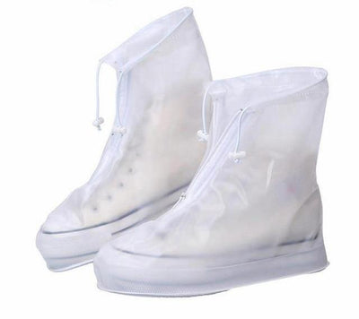 Waterproof Shoe Cover - White / S