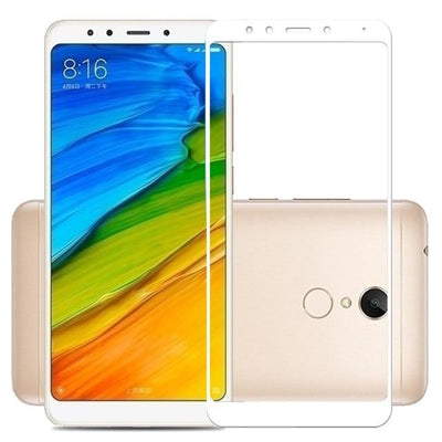Tempered Glass For Xiaomi - White / for Redmi 5