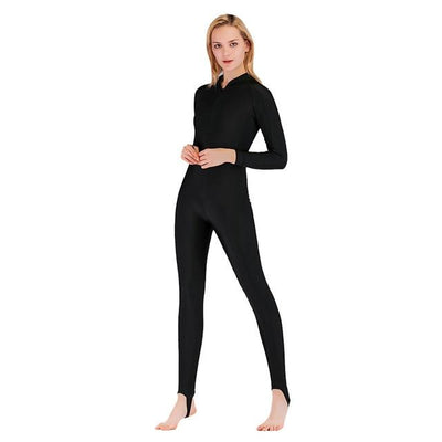 Anti UV Diving Wetsuit - Women Black / S