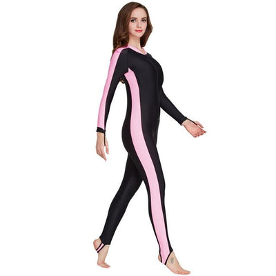 Anti UV Diving Wetsuit - Women Pink / S