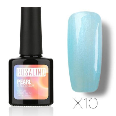 Long-Lasting Nail Polish Gel - X10