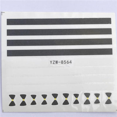 Water Transfer Decals Nail Art Sticker - YZW-8564