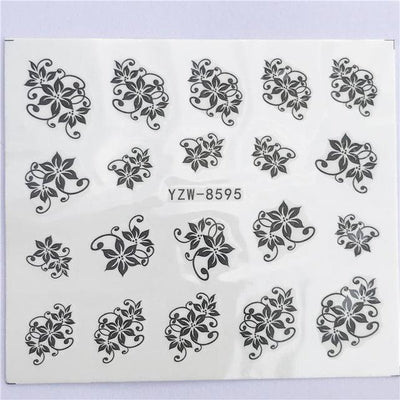 Water Transfer Decals Nail Art Sticker - YZW-8595