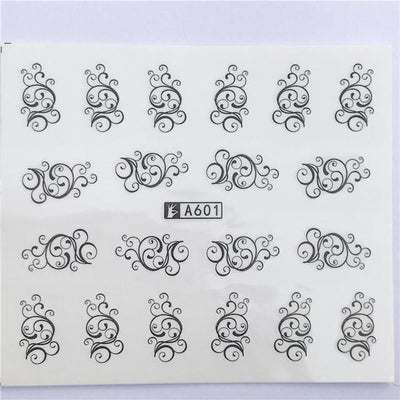 Water Transfer Decals Nail Art Sticker - YZW-A601