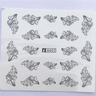 Water Transfer Decals Nail Art Sticker - YZW-A602