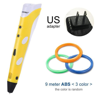 3D Doodler Printing Pen - Yellow US